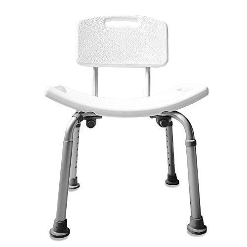 Shower chair-Silla Ducha Aluminio Ayuda Baño Taburete