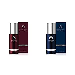 The Man Company Non-Gas Body Perfume for Men, Rouge, 120ml & The Man Company Non-Gas Body Perfume for Men, Bleu, 120ml