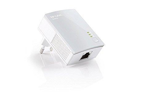 TP-Link  TL-PA4010 KIT - Kit de inicio con Nano Adaptadores Powerline AV500 (500 Mbps Powerline, eficiencia energética, HomePlug, Plug and Play, IPTV, control APP)
