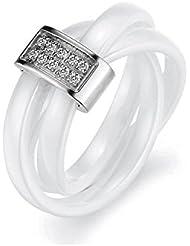 myC–Ring Trinity Keramik–Swarovski Elements