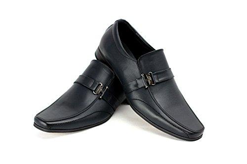 Herren Formelle Schuhe Italian Smart Office Ohne Bügel Party Style Schwarz
