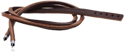 Trollbeads Leder Bracelet Lederarmband, hell-/dunkelbraun, 36cm