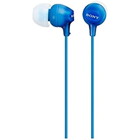 Sony MDR-EX15LP - Auriculares in-ear, azul