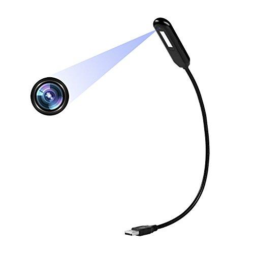 Telecamera nascosta Lampada da tavolo 1080P Mini Videocamera per ...