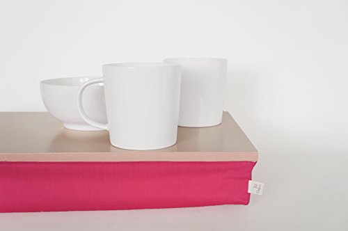 kids-travel-tray-bed-support-desk-laptop-stand-pastel-beige-with-bright-pink-fuchsia-support-pillow
