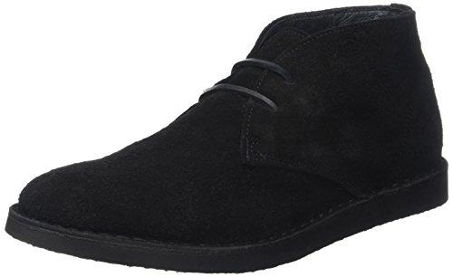 IKKSEasy Boots - Stivali Desert Boots Uomo , nero (nero (noir)), 45 EU