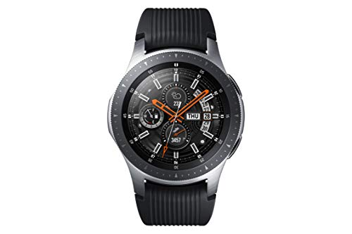 Samsung Galaxy Watch 46 mm (Bluetooth), Silber (Samsung Galaxy Handy-apps)