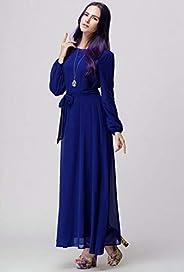 فستان شيفون كاجوال للنساء