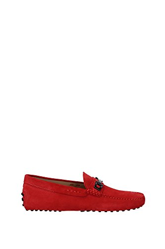 XXM0EO0N653R0R010 Tod's Mocassins Homme Chamois Rouge Rouge