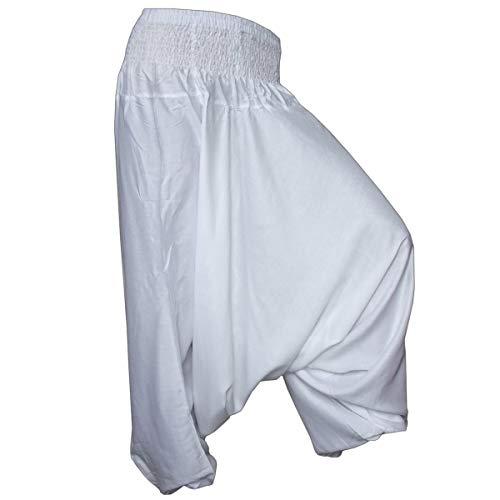 PANASIAM Aladin Pants Plain White XL -