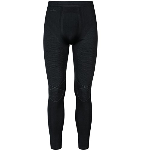 Odlo Evolution Tights Thermo Herren Black - Odlo Graphite Grey