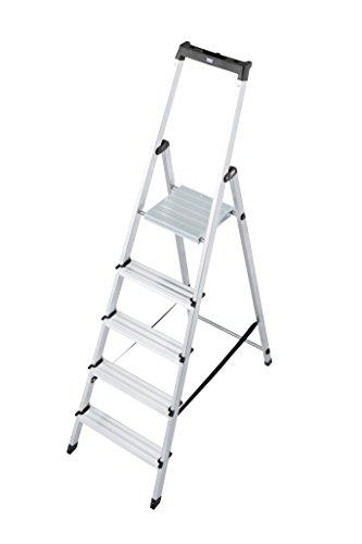 """Krause Stufen-Stehleiter """"Solidy"""" 5 Stufen"""