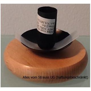 Ostrich egg lamp bracket for wood straußeneilampen–5cm