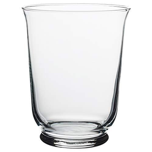 IKEA ASIA Pomp Vaso/Lanterna, Vetro Trasparente