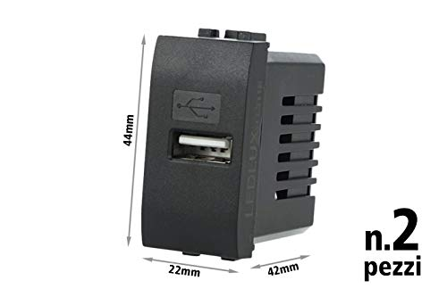 LEDLUX 2 Pezzi Moduli Compatibile Bticino Living Light...