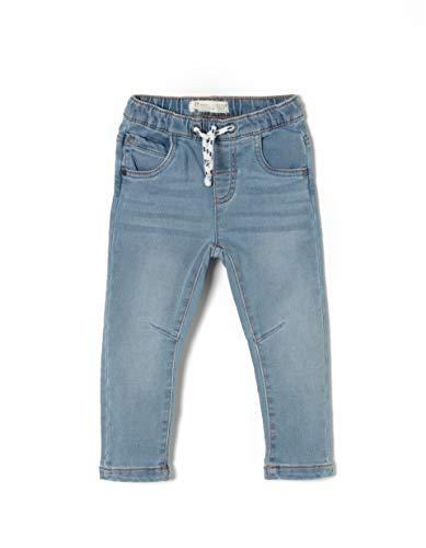 ZIPPY Ztb0402_455_2, Pantalon Bébé garçon, Bleu (Light Blue Denim 2564), 74 (Taille Fabricant: 6/9M)