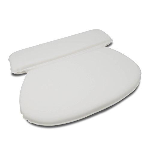 Luxamel Badewannenkissen mit 7 Extra Starken Saugknöpfen Nackenstüze für Badewanne Einführungspreis