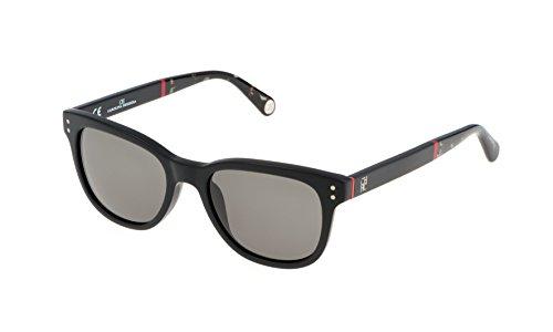 Carolina herrera she610510703, occhiali da sole donna, nero (negro), 51