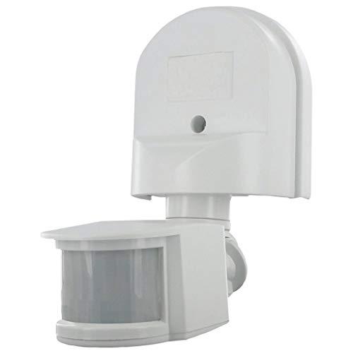 Smartwares, ES90W PIR-Bewegungsmelder, Erfassungsbereich 180 x 12 m, schwenkbar weiß