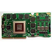 8G Laptop VGA Grafikkarte n15e-gx-a2Für ASUS ROG g750j G750JS G750JZ GTX870M 8GB VGA Video Graphic Card Kompatibel 60nb04K0-vg2000NVIDIA GTX 870M GDDR5 (8gb Video Graphics Card)