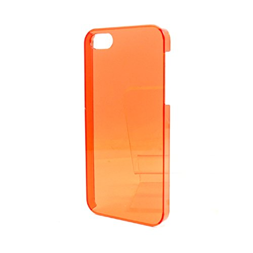 Great Deals on Click Sales, Apple iPhone 5 5G 5S, Hard Case Cover + STYLUS PEN (Rose) orange