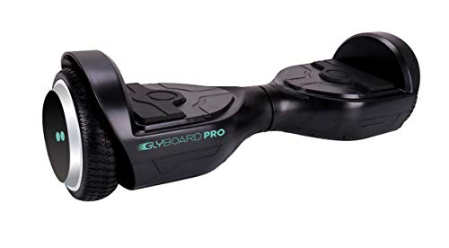 twodots hoverboard tdev0010b, glyboard pro black gioventù unisex, nero, 63 x 24 x 23