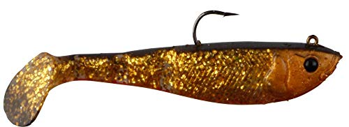 Savage Gear Soft 4Play Shad (Ready to Fish.), - Glitter Bug - Bugs Glitter