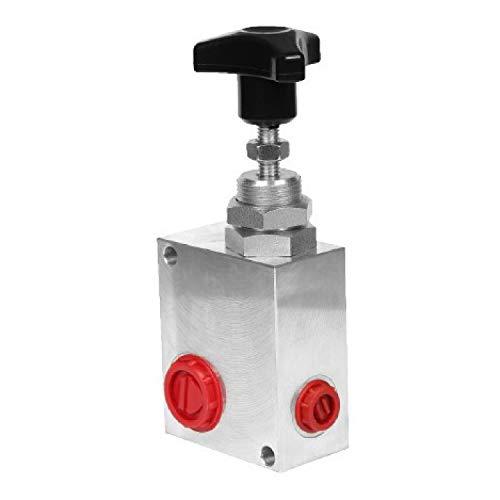 """Uzman-Versand Hydraulik Druckbegrenzungsventil G 1/2\"""" 60 Lit/min Hydraulikventil, (Aluminium, 1/2) Sicherheitsventil"""