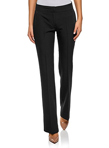 Pantalones negros rectos clásicos
