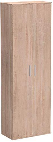 mokebo® Mehrzweckschrank 'Der Lange', moderner Aktenschrank oder Schrank, Made in Germany & klimaneutraler Versand, Sonoma Eiche -69