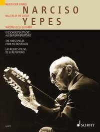 PARTITIONS CLASSIQUE SCHOTT YEPES NARCISO   THE FINEST PIECE FROM HIS REPERTOIRE   GUITARE GUITARE