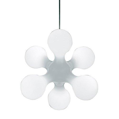 Kundalini Atomium Ceiling Pendelleuchte, weiß Polyethylen inkl. Leuchtmittel