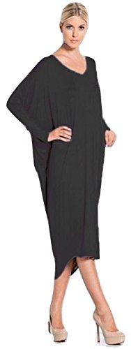 Robe courte sans bretelles pour dames EUR Taille 36-54 Noir