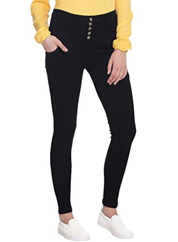 Broadstar Women Denim Black Jeans-30