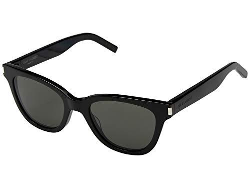 Yves Saint Laurent Sonnenbrillen (SL-51-SMALL 001) glänzend schwarz - grau