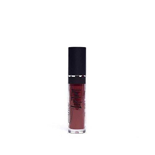 PUROBIO - Rouge à lèvres liquide 06 - Tonalitè 06 Bourgogne - Fini Matte - Nickel Testé - Produits Biologique - 4 ml