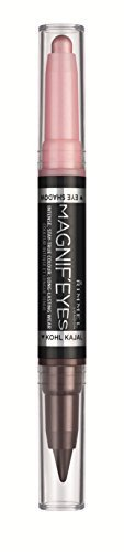 Rimmel Magnifeyes Double Ended Shadow and Eye Liner, Pink/Purple Rain, 0.05 Ounce by Rimmel