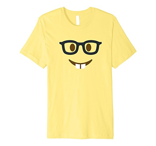 Halloween Nerd Geek Emoji Kostüm ()