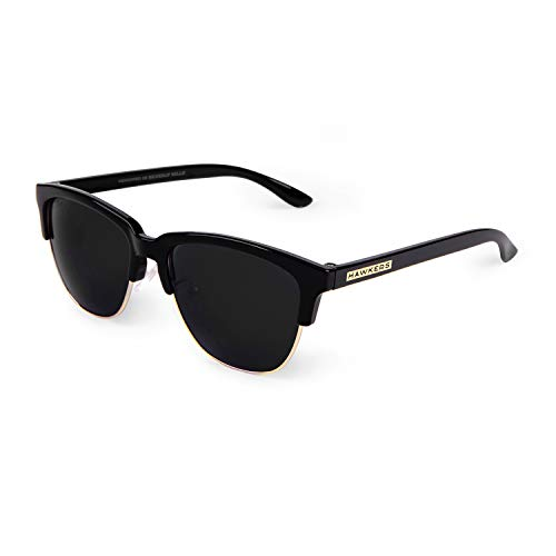 HAWKERS Classic Gafas de sol, Negro, One Size Unisex-Adult