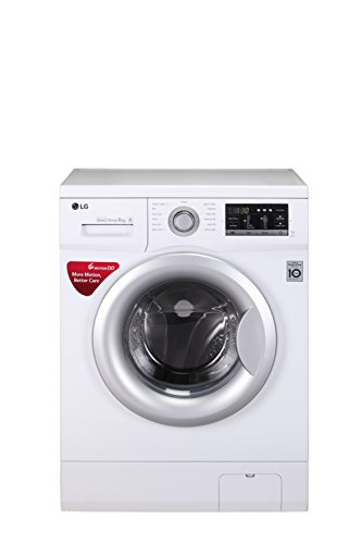 LG 6 kg Fully-Automatic Front Loading Washing Machine (FH2G7NDNL12, Blue White)
