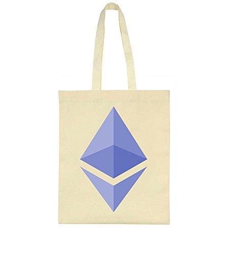 idcommerce ETH Purple Logo Tote Bag