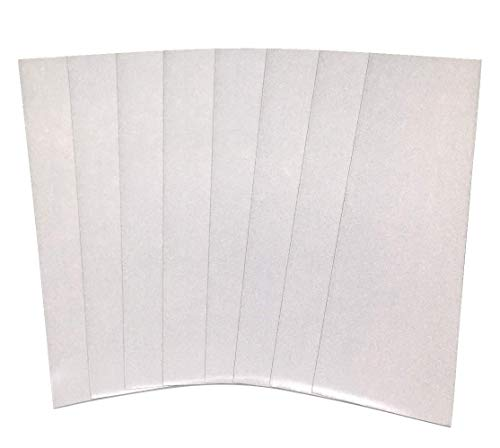 Qbc Craft Reflektierendes Vinylband, Weiß, 8 Stück von 3M Scotchlite 7 MIL 7 Jahre Straßensicherheit, retroreflektierendes Klebeband für Autos, Fahrradhelme,...
