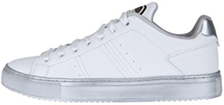 Colmar Zapatos con Cordones Mujer, Color Blanco, Talla 38 EU