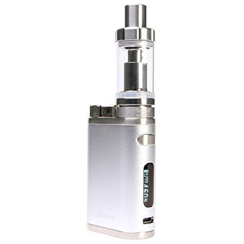 Riccardo iStick Pico 75 Watt Kit mit Melo 3 Clearomizer 4 ml, Eleaf e-Zigarette, silber, 1 Stück
