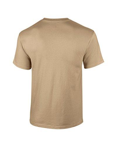 Gildan Ultra T-Shirt - Tan X-Large -