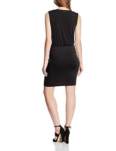 Only Onlzigga S/L Dress Jrs, Robe Femme Noir (Black)