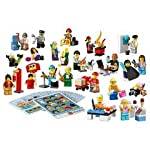 LEGO-Education-Community-Minifigure-Set-256pieza-S-Set-da-Costruzione-Gioco-di-Costruzioni-Multicolore-4-Anno-S-256-Pezzo-S