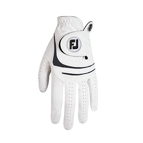 Footjoy WEATHERSOF 2018 Herren Golfhandschuh Linkshand (M, Weiß)