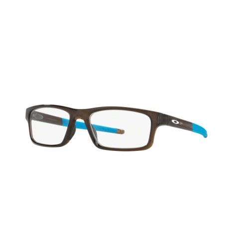 Oakley - CROSSLINK PITCH OX 8037, Rechteckig, Propionat, Herrenbrillen, POLISHED BARK AZURE(8037-17), 52/18/135