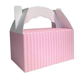 """enkel-Box aus der Serie """"Pink Striped"""" mit Streifen (Popcorn-mädchen-kostüm)"""